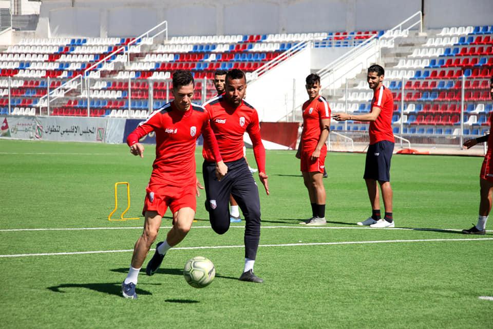 المغرب التطواني يدشن تدريباته بعد التوقف