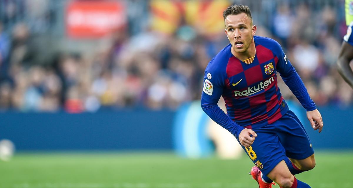 سيتيين يؤكد أن برشلونة لم يبلغه برحيل أرتور