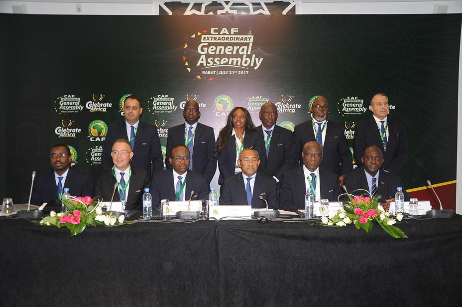 أبرز ما جاء في اجتماع الكونفدرالية الإفريقية لكرة القدم