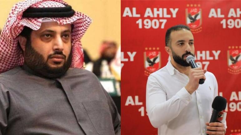 الأهلي يسحب تركي آل الشيخ من القائمة الفخرية