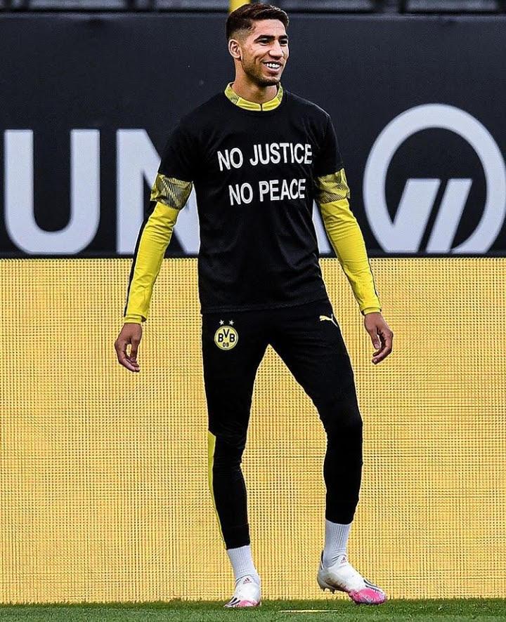حكيمي: لا عدالة لا سلم