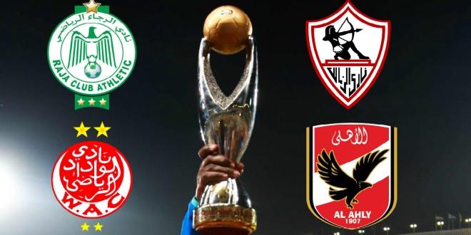 الكاف سيختار بين تونس والمغرب لاستضافة عصبة الأبطال