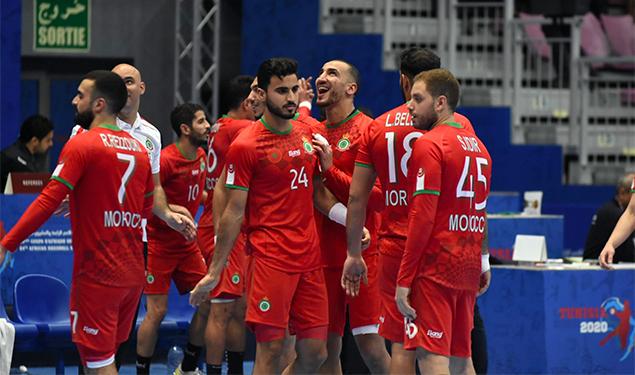 كرة اليد المغربية تسقط في المستوى الرابع لكأس العالم