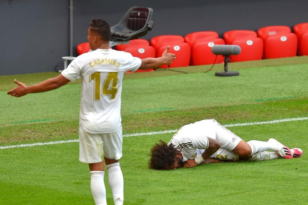 ريال مدريد يفتقد مارسيلو بسبب الإصابة