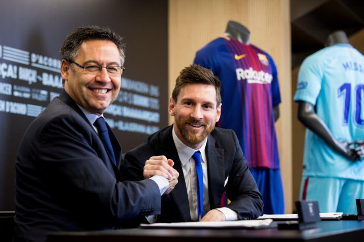 بارتوميو يقول ميسي سيختتم مسيرته في برشلونة