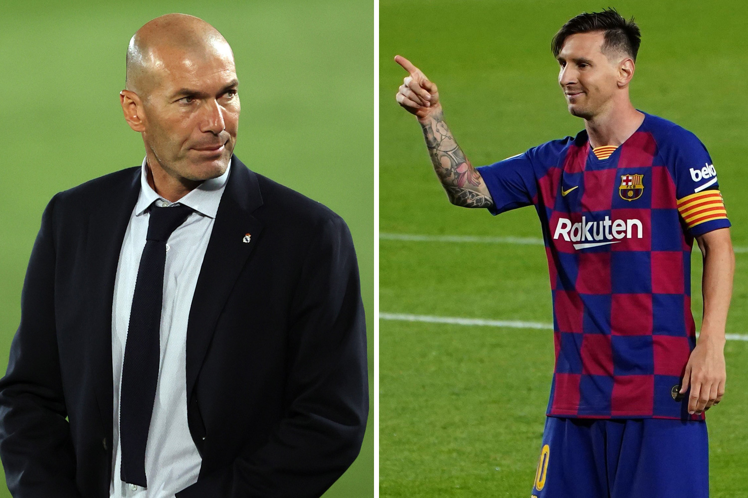بعد تقرير عن قرب رحيله: زيدان يريد من ميسي البقاء مع برشلونة !