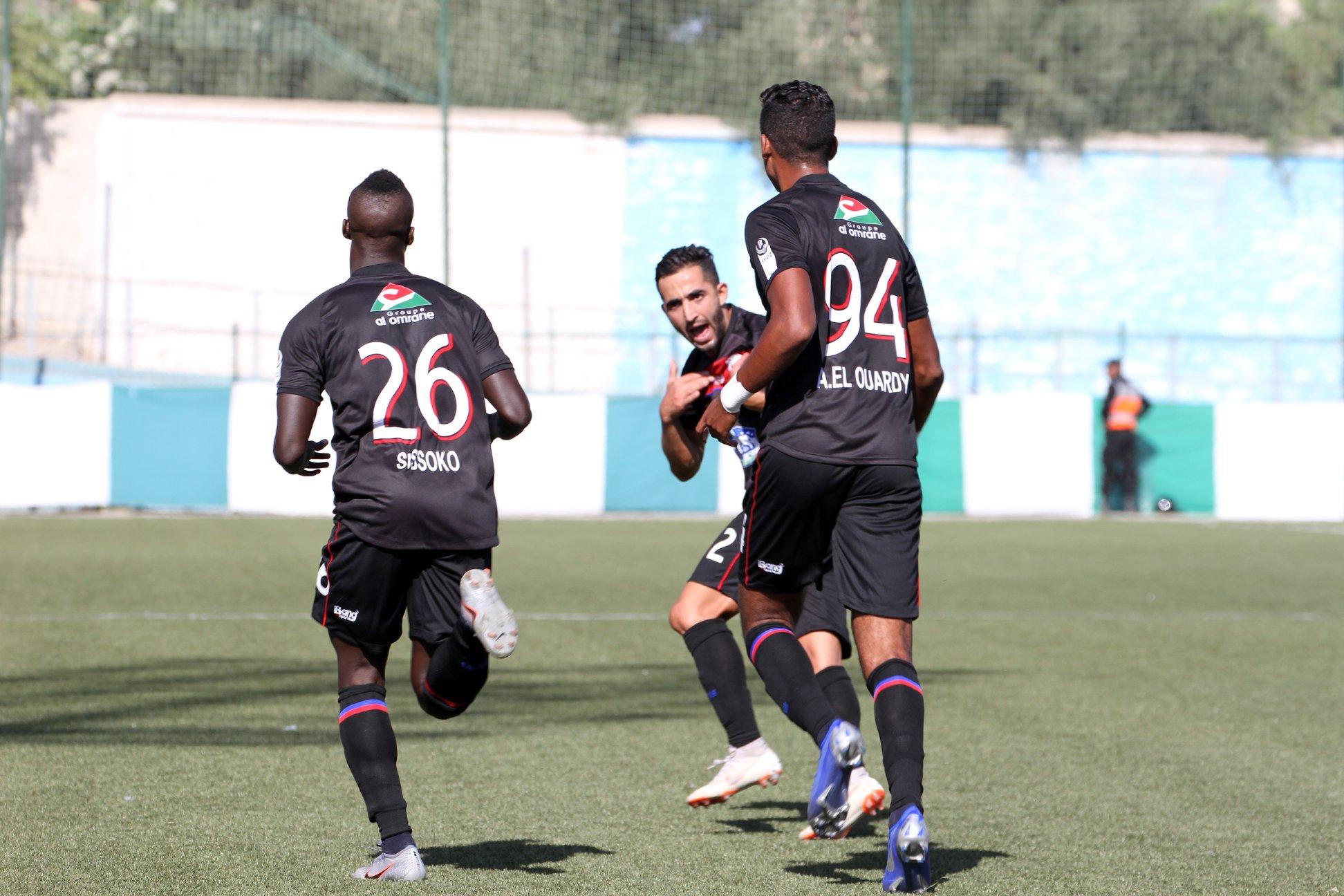 المغرب التطواني يرد على إيقاف هماني