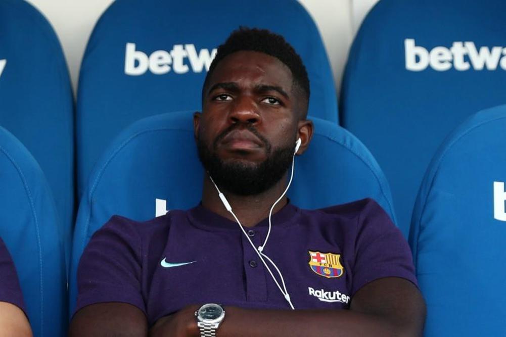 أومتيتي لا يريد مغادرة صفوف نادي برشلونة الاسباني