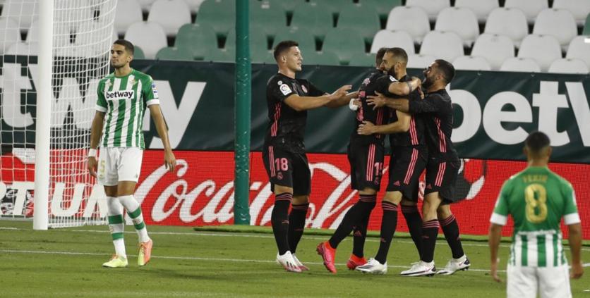 بطولة إسبانيا: ريال ينجو من الخسارة امام بيتيس