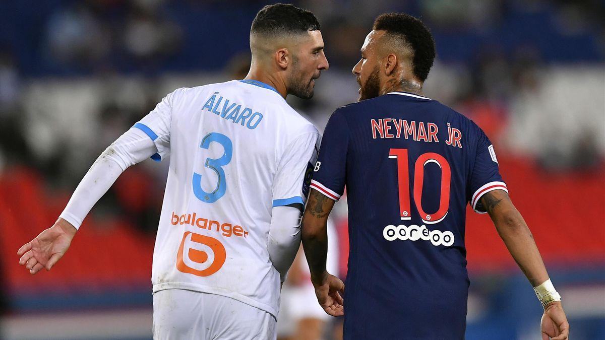 العصبة الفرنسية لكرة القدم: ايقاف نيمار مباراتين وفتح تحقيق بحق غونزاليس لمزاعم عنصرية