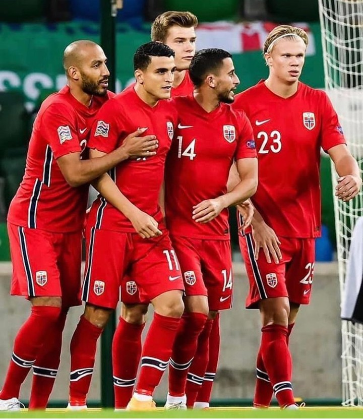 ثلاثي مغربي يساهم في الفوز الساحق لمنتخب النرويج على إيرلندا