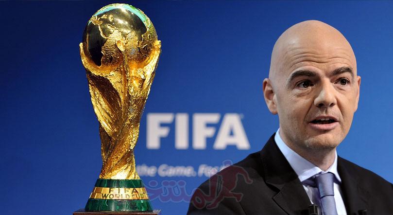 كاس العالم 2022: رئيس الفيفا قلق من تأجيل تصفيات مونديال قطر