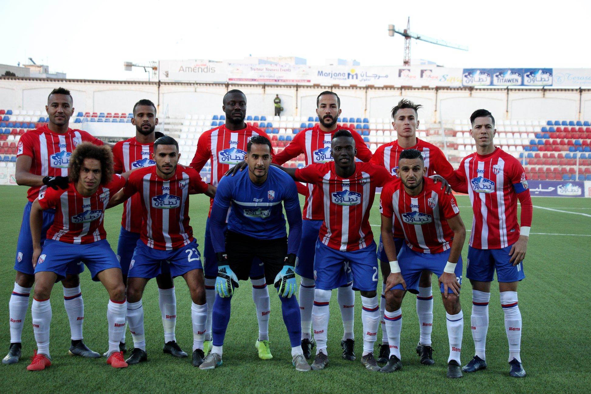 المغرب التطواني يستغني عن هؤلاء اللاعبين