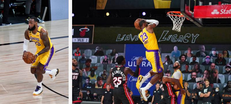 البطولة الأميركية لكرة السلة: ليكرز يكشر عن أنيابه مبكرا في أمسية كارثية لميامي