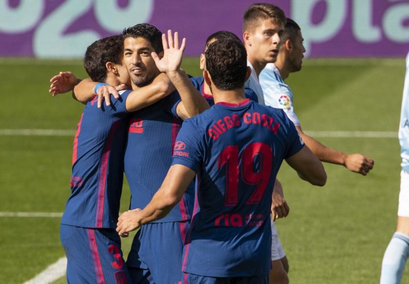 البطولة الاسبانية: سواريز يسجل في فوز أتليتيكو على سيلطا فيغو