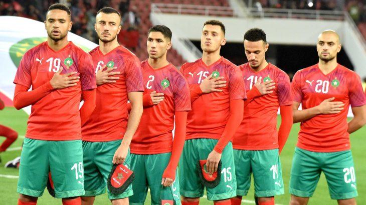الفريق الوطني أنهى الشوط الأول متقدما