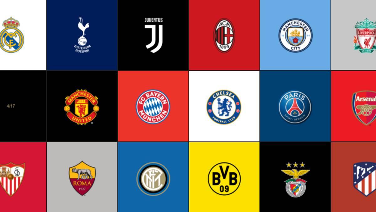 أغلى 10 تشكيلات في البطولات الأوروبية الكبرى..