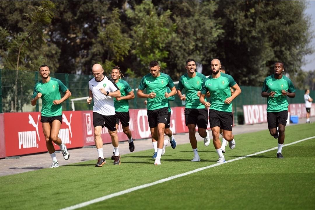 المنتخب المغربي يواصل تداريبه اليوم بمركز محمد السادس لكرة القدم