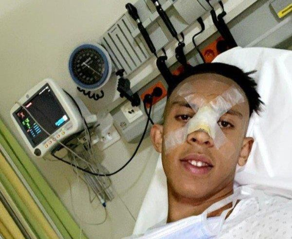 عملية جراحية لرحيمي تحدد مصيره في مباراة الإياب