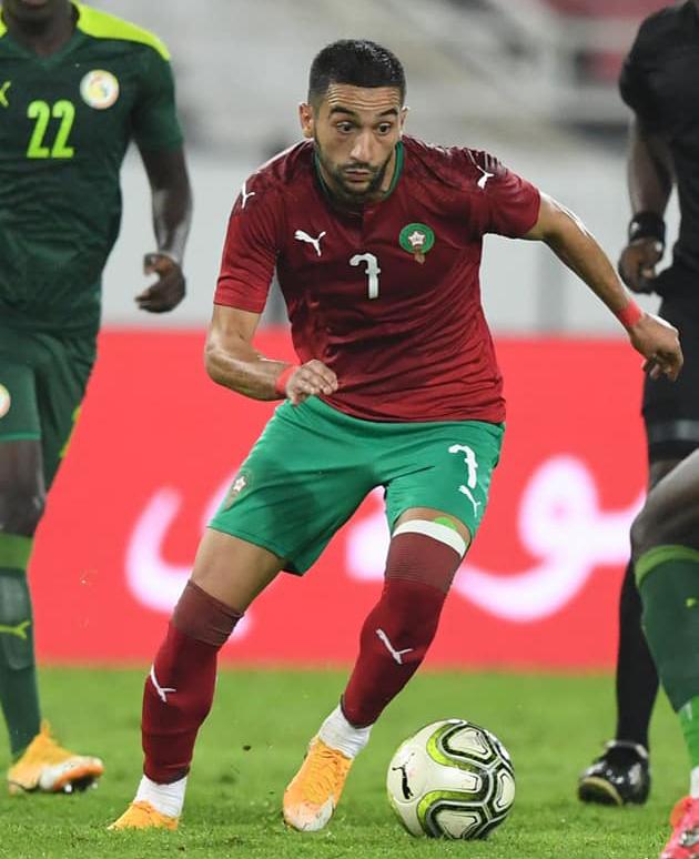 مباراة السنيغال وضعت حدا لغياب زياش 40 يوما