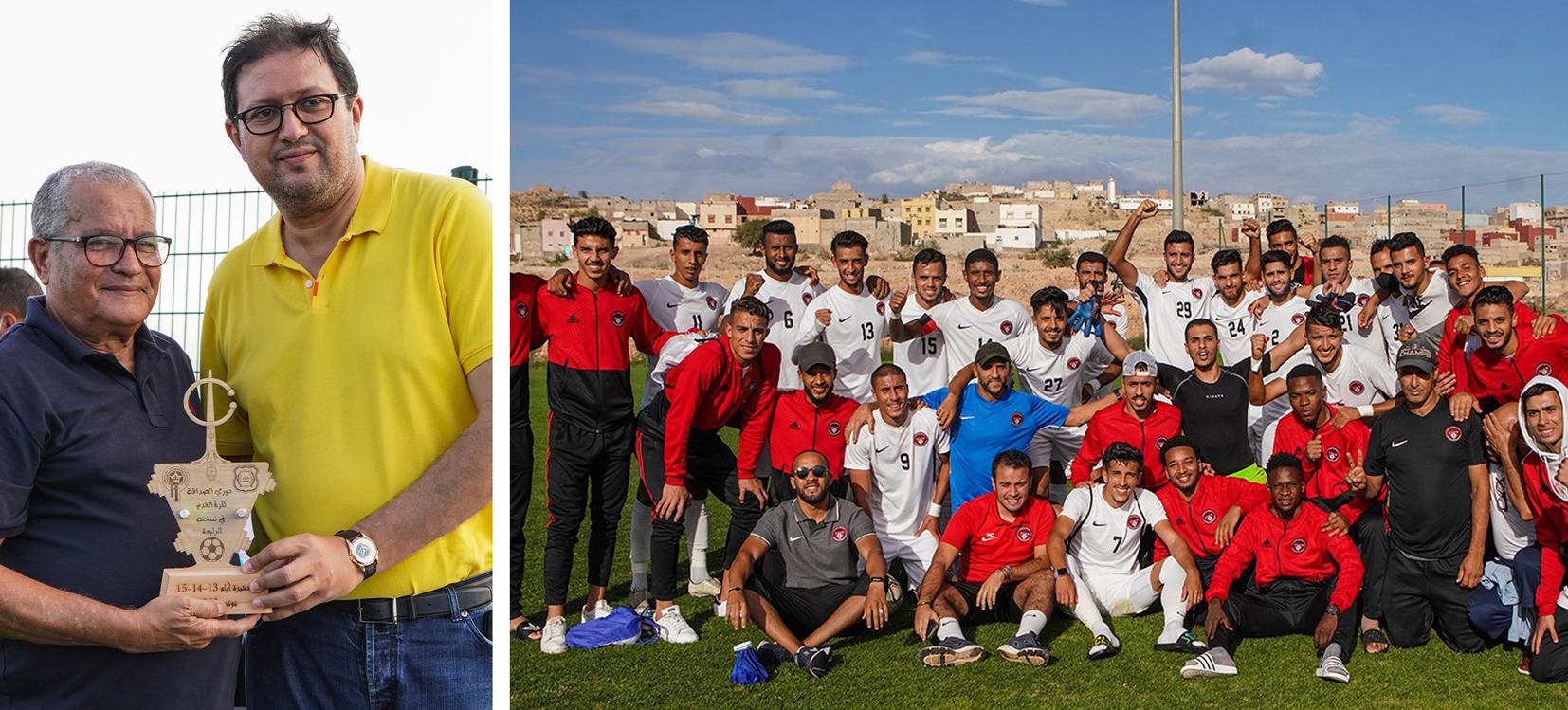 شباب المحمدية بطل دوري الصداقة