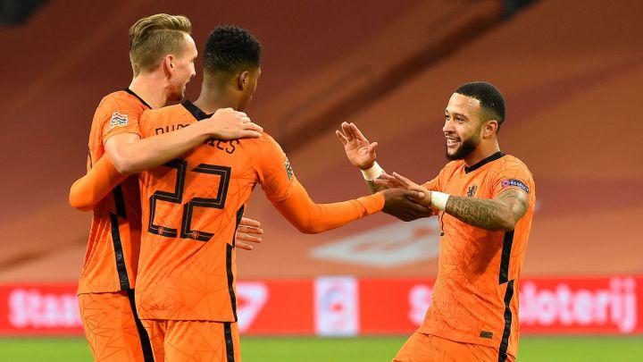 عصبة الأمم: فينالدوم يهدي دي بور فوزه الأول كمدرب لهولندا