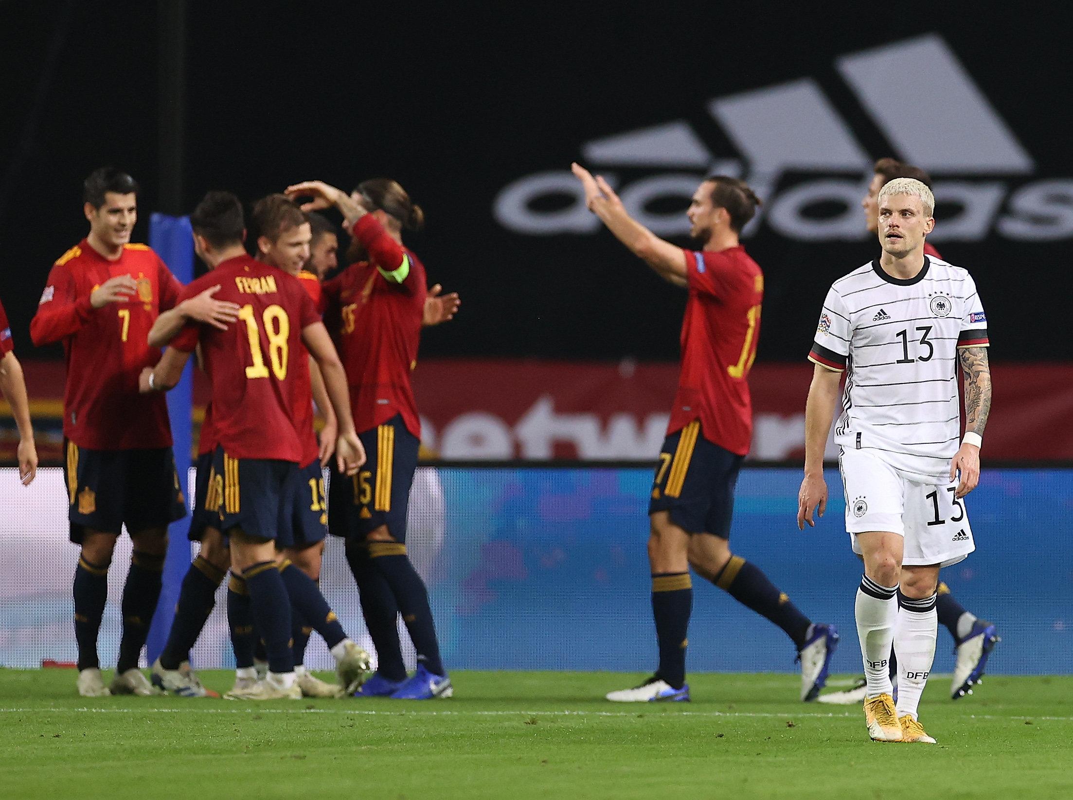 عصبة الأمم: فوز إسبانيا الساحق على ألمانيا 6-0 يكسر العديد من الأرقام القياسية