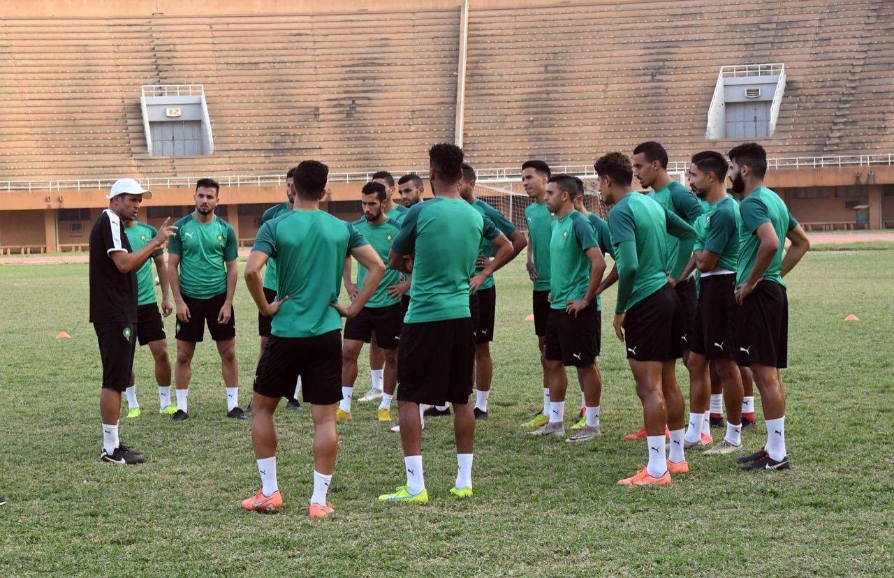 26 لاعبا في معسكر المنتخب المحلي بمركز محمد السادس لكرة القدم