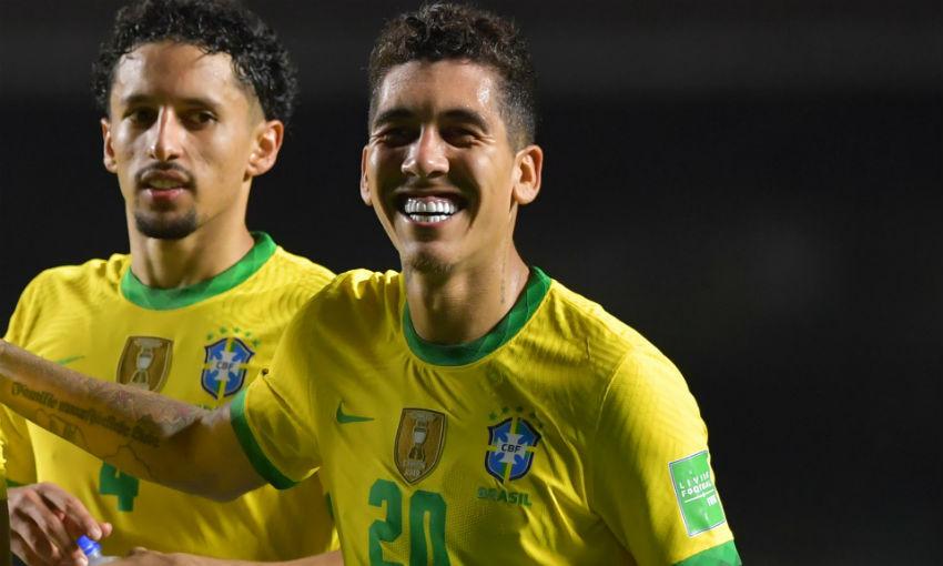 فيرمينو يقود البرازيل للعلامة الكاملة