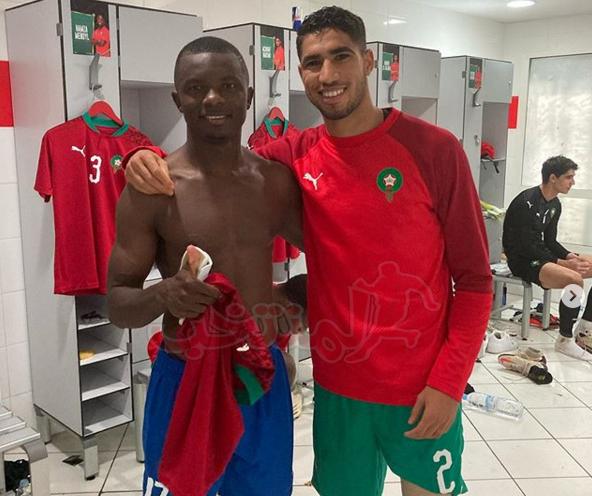 لاعب إفريقيا الوسطى سعيد بملاقاة ثلاثي الأسود