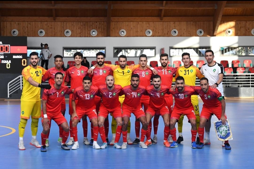المنتخب الوطني لكرة القدم داخل القاعة يتفوق على منتخب أوزبكستان 3-1