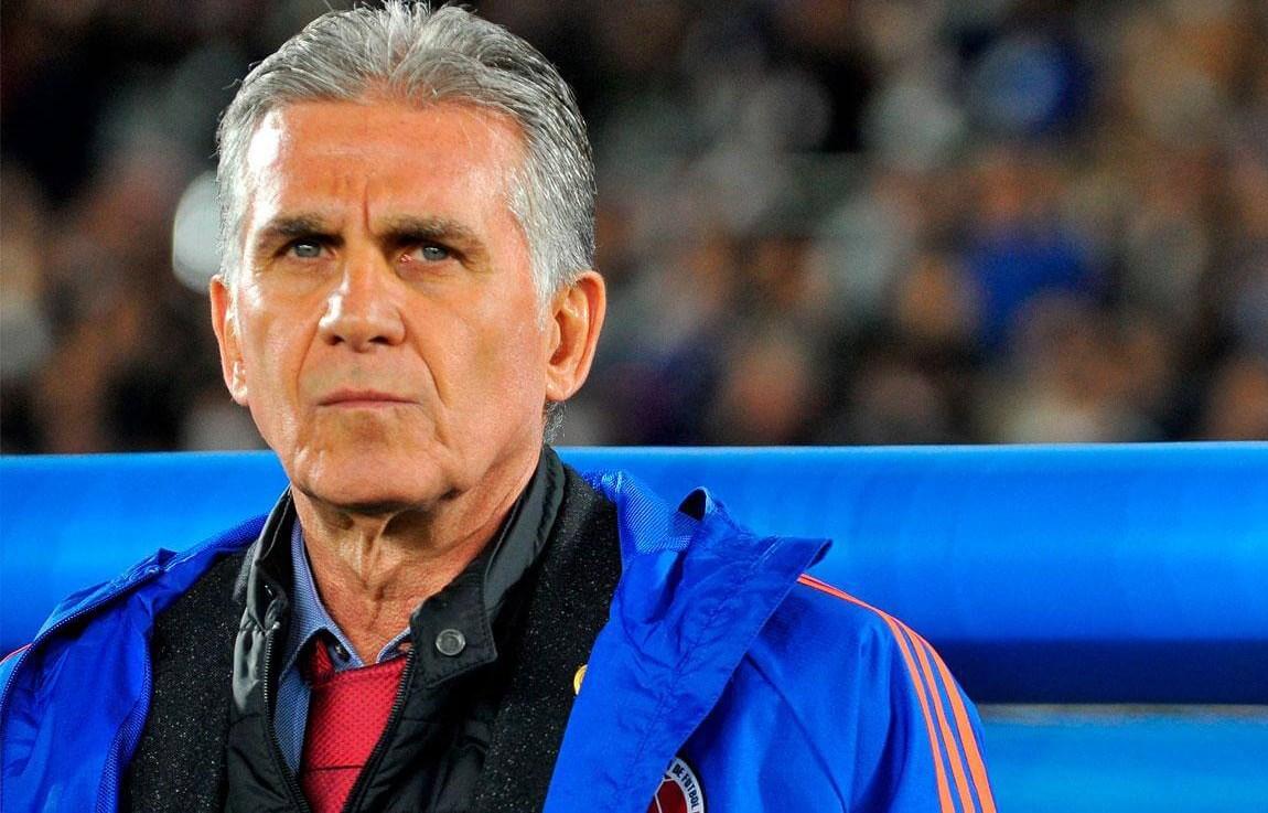 إقالة البرتغالي كيروش من تدريب منتخب كولومبيا