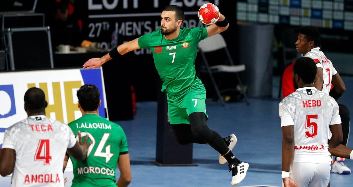 مونديال اليد... (مصر 2021) المنتخب المغربي يفوز على أنغولا وينهي المشاركة في الرتبة 29