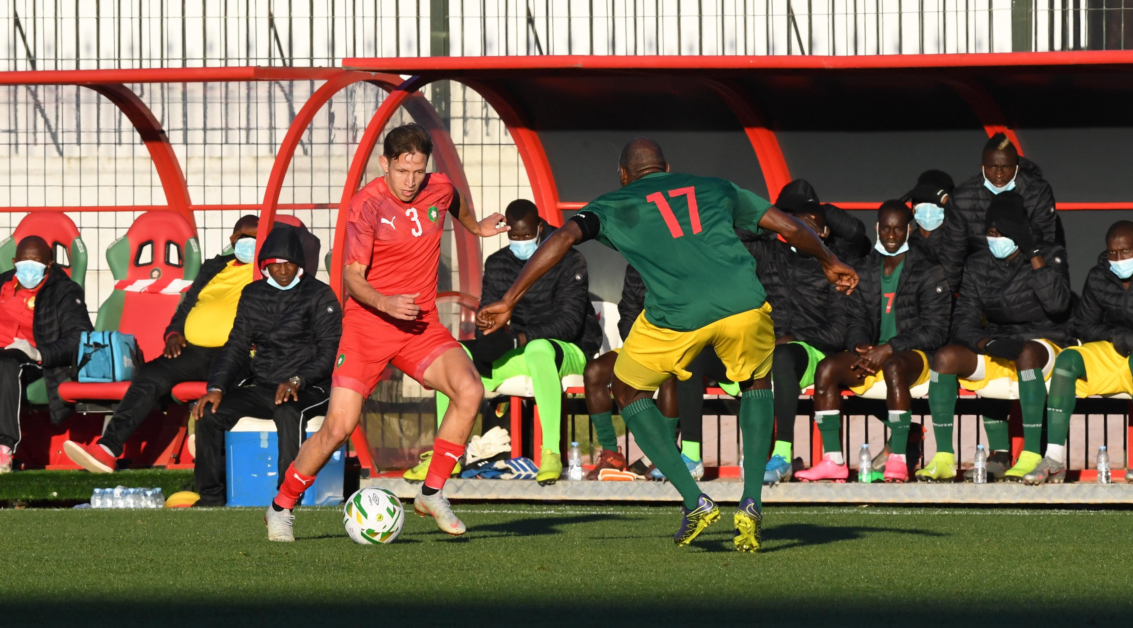 الكعبي قاد «أسود البطولة» لإسقاط «سيلي» غينيا