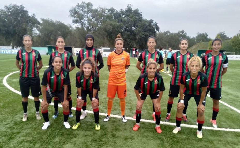 الجيش الملكي لكرة القدم النسوية يتسلم درع البطولة للقسم الأول لموسم 2019-2020