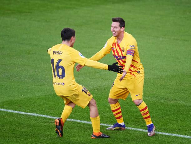 بطولة إسبانيا: ثنائية ميسي تهدي برشلونة فوزا مهما على بلباو