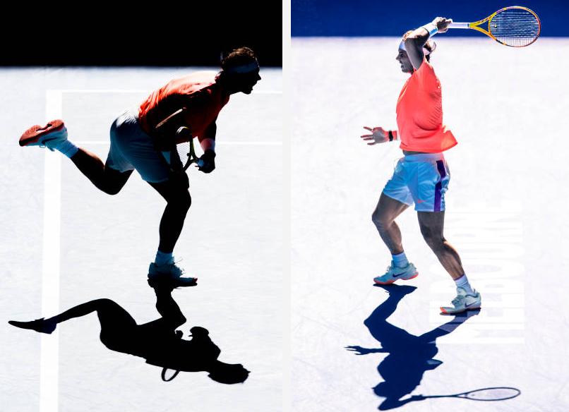 دورة أستراليا المفتوحة: نادال يبدد الشكوك وكينين تبدأ حملتها متعثرة