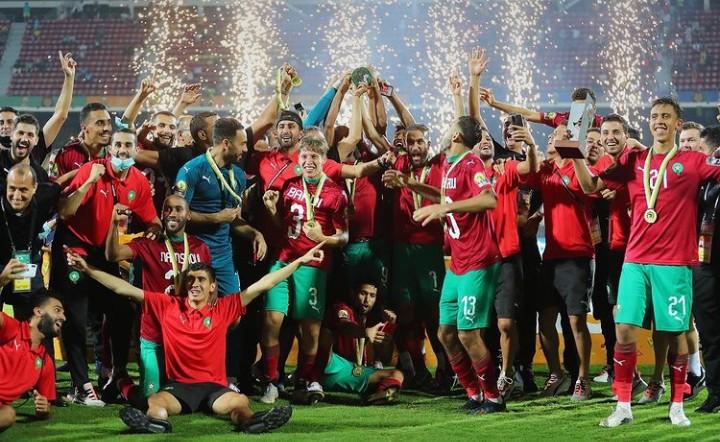 المنتخب المغربي بطلا لـ الشان  بثائية في شباك مالي