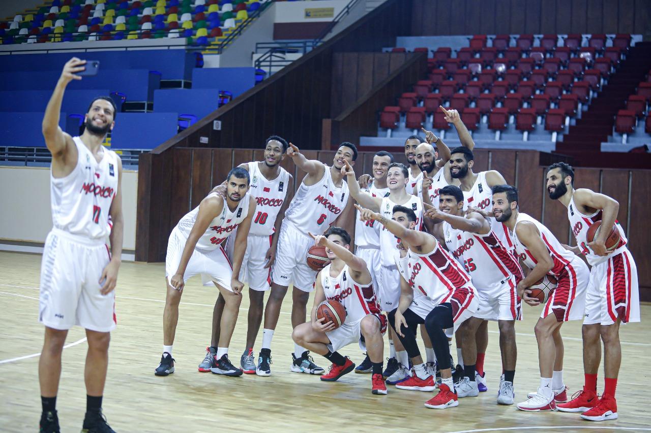 المنتخب الوطني لكرة السلة توجه إلى تونس