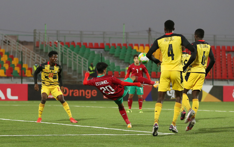 أشبال الأطلس  يكتفون بالتعادل السلبي ضد غانا