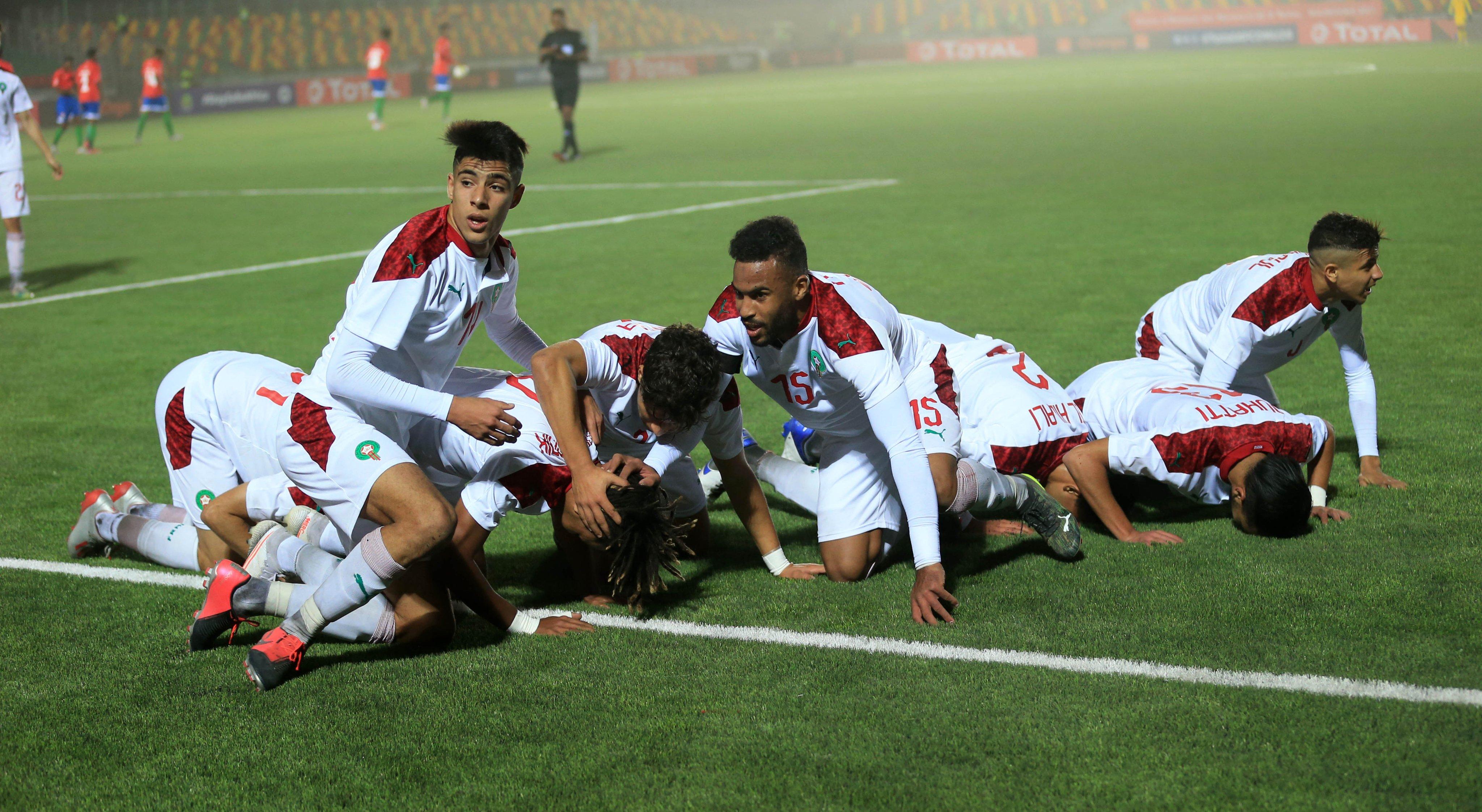 كأس افريقيا تحت 20 سنة.. أشبال الأطلس يعبرون حاجز عقارب غامبيا