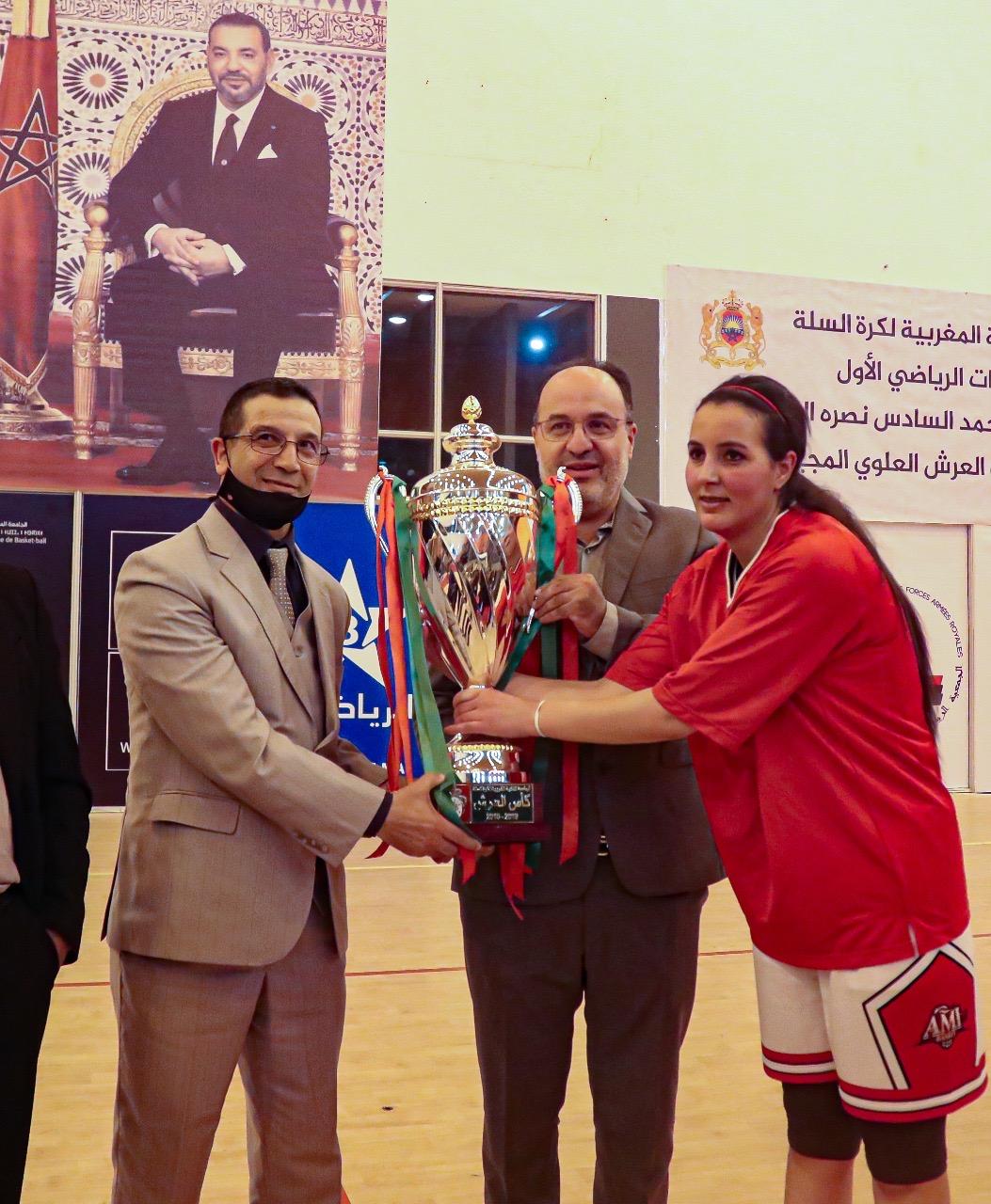 كرة السلة: جمعية ميشلفن -إفران تحرز لقب كأس العرش