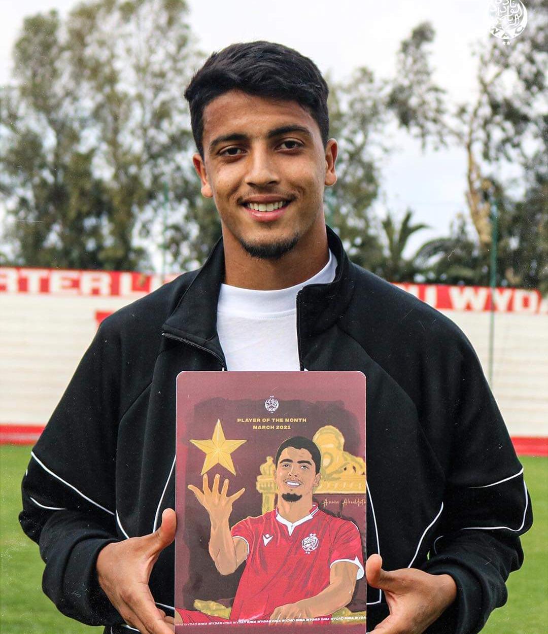 ابو الفتح أفضل لاعب ودادي شهر مارس