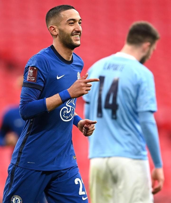 زياش سطع بويمبلي وهدفه منح بطاقة نهائي كأس انجلترا