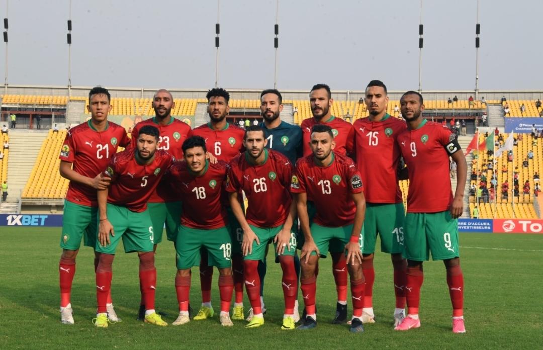 غدا يتعرف المنتخب المغربي على منافسيه في كأس العرب بقطر