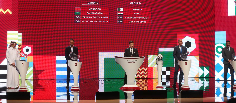 كأس العرب 2021: نتائج القرعة ونظام تصفيات الدور التمهيدي