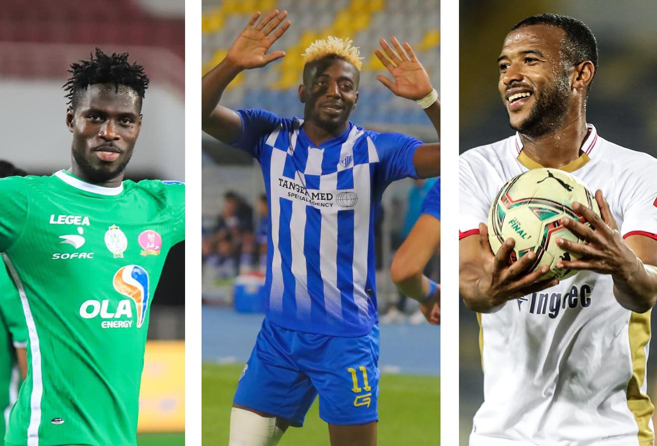 الصراع يشتعل بين مالانغو، أكسيل والكعبي في سباق الهدافين