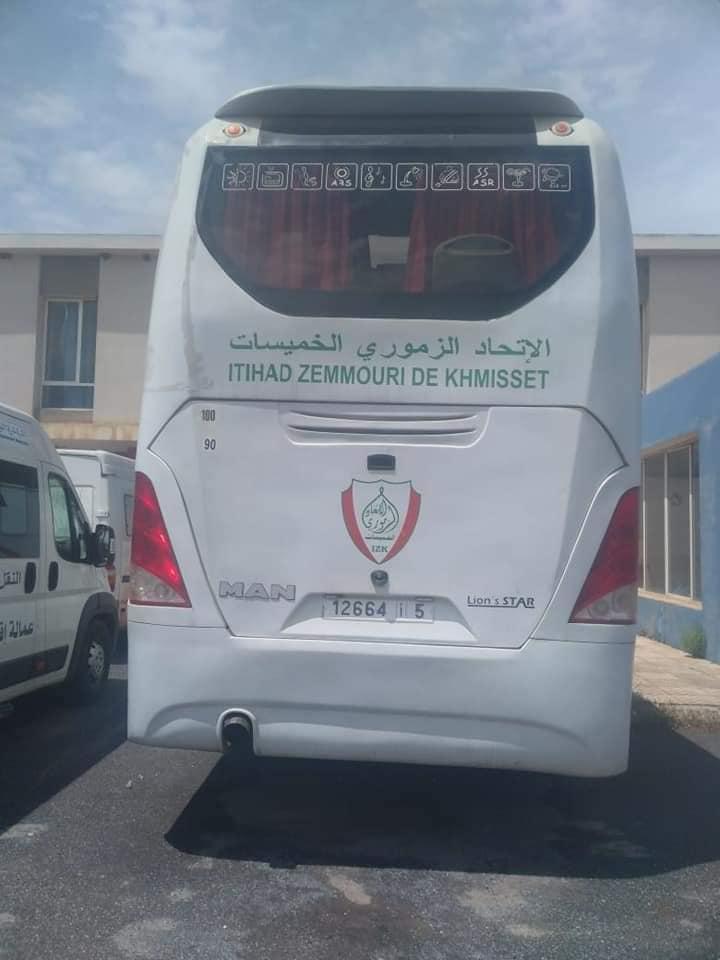 دولي سابق يحجز على حافلة الإتحاد الزموري