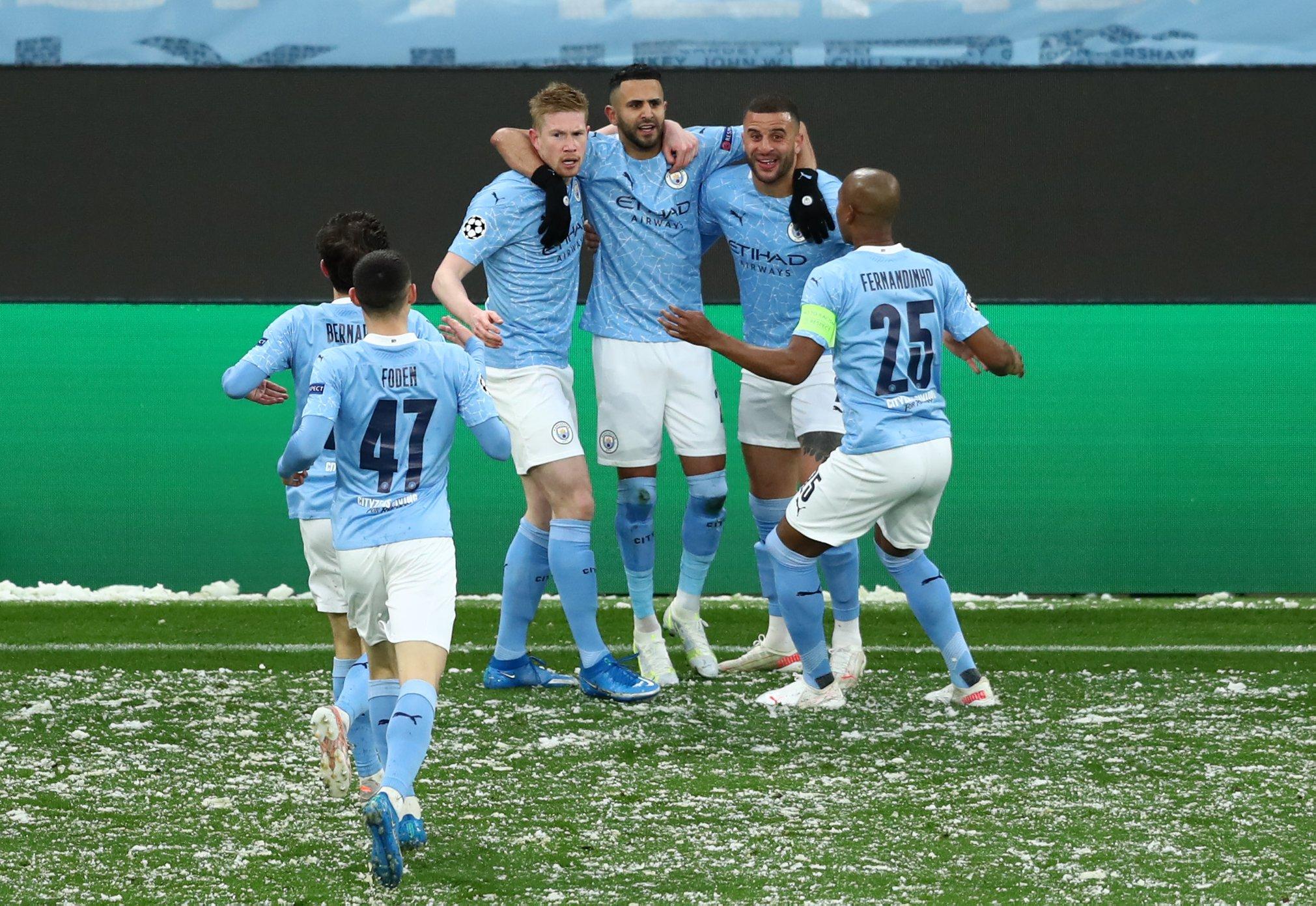 عصبة أبطال أوروبا: مانشستر سيتي الى النهائي الأول في تاريخه بفضل ثنائية محرز