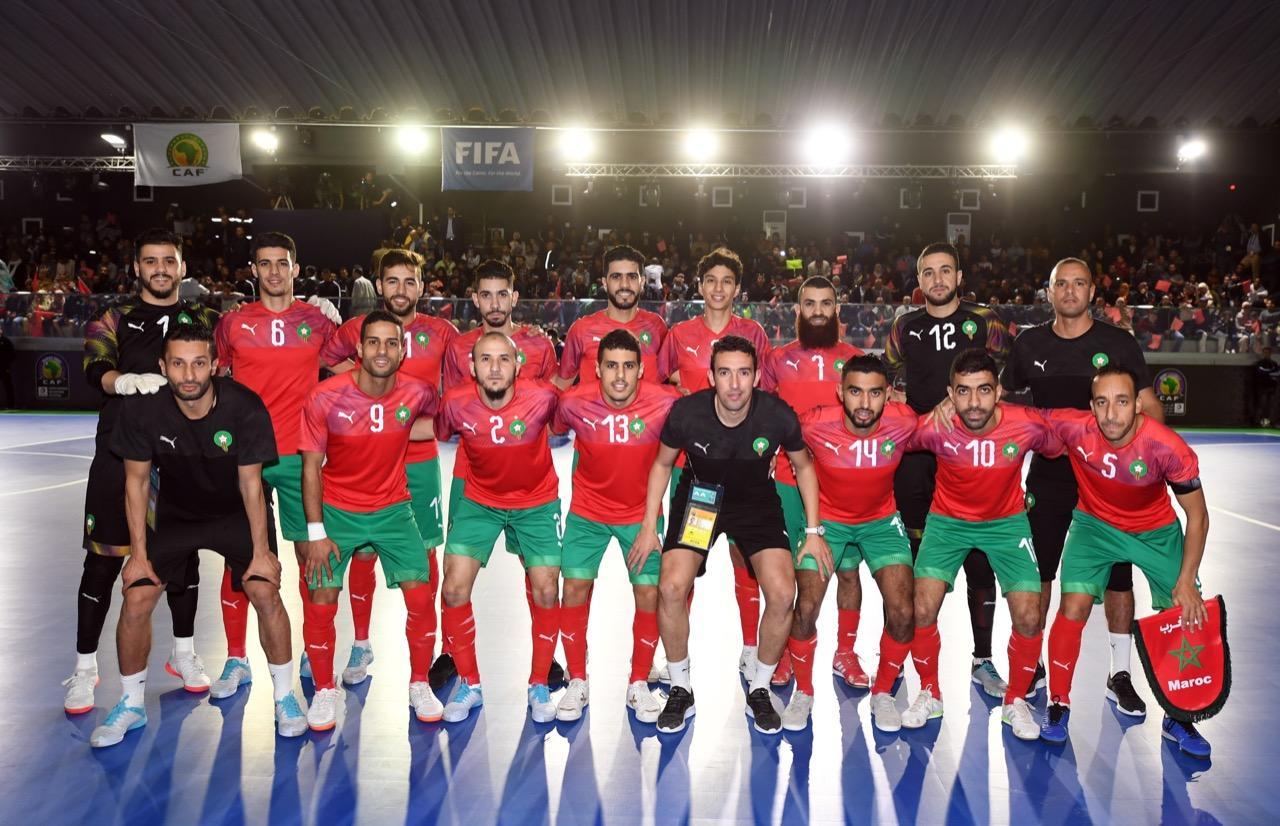 قرعة كأس العرب لكرة القدم داخل القاعة 2021: المنتخب الوطني في المجموعة الثانية